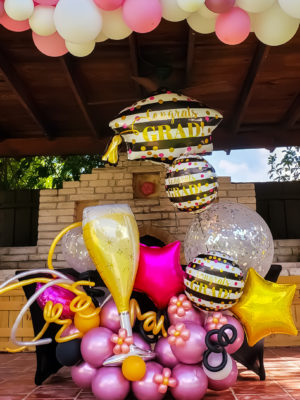 Cheers Graduation Bouquet-Veroballoon.com Decorations Miami