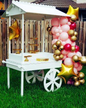 Party Cart Rental - veroballoon.com Decorations Miami