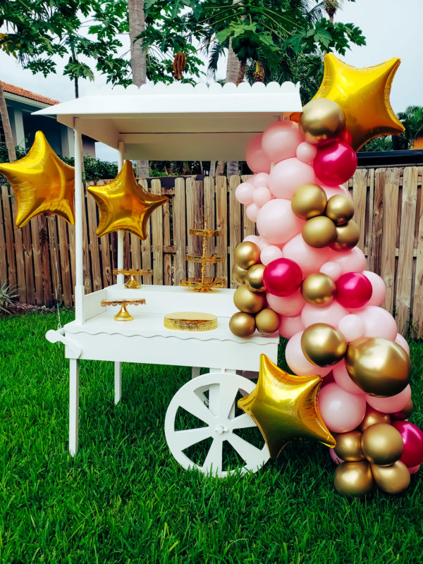 Party Cart Rental - veroballoon.com Decorations Miami