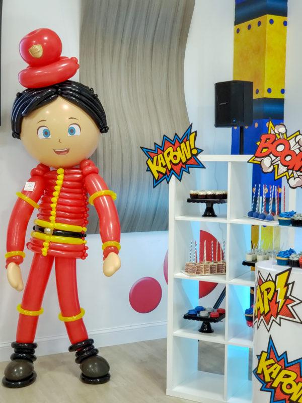 FIREFIGHTER -veroballoon.com Decorations Miami