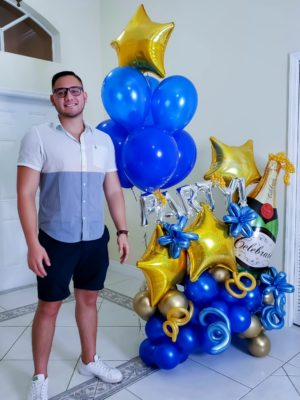 Super Celebration Bouquet - Veroballoon.com Decorations Miami