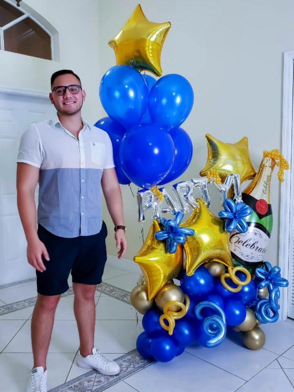 Super Celebration Bouquet - Veroballoon.com Decorations Miami