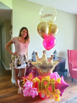Royalty Birthday- Veroballoon.com Decorations Miami