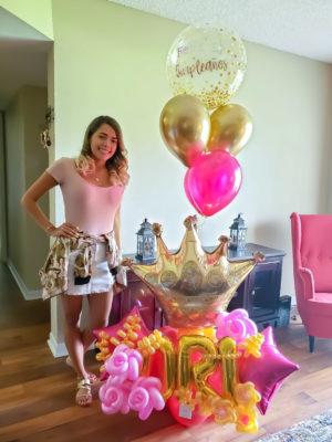 Royalty Birthday- Veroballoon.com Decorations Miami