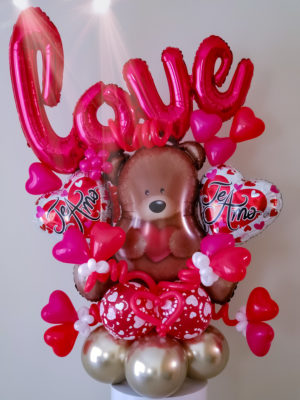Love Bear Bouquet veroballoon.com