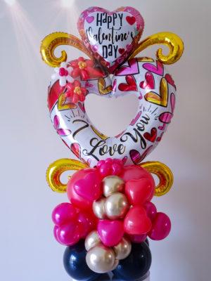 Big Heart Bouquet- veroballoon.com