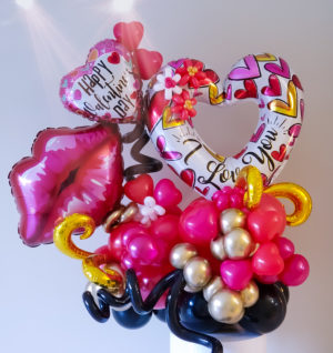 Passionate Love Bouquet veroballoon.com